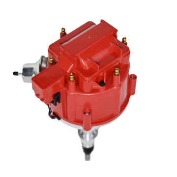 A-Team Performance HEI Distributor - Amc Jeep 232-258 6-Cyl Engines 50K V Coil Red Cap