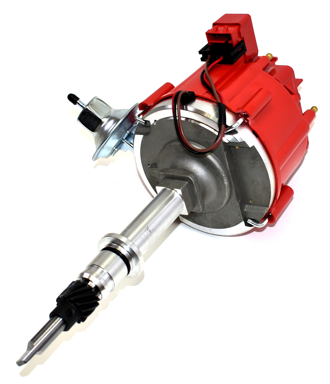 A-Team Performance AMC/Jeep Straight 6 232 3.8L & 258 4.2L 65K COIL Red Cap HEI Complete Distributor One Wire