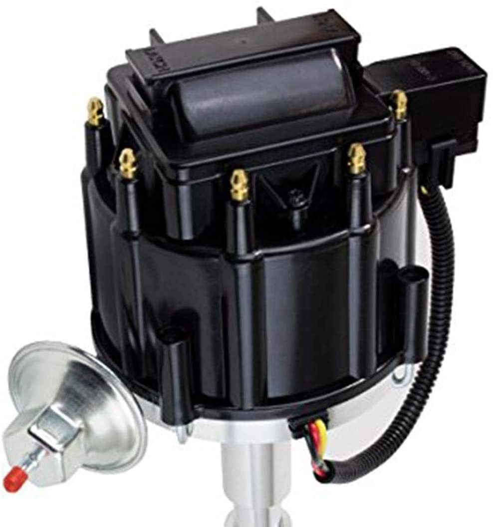 A-Team Performance JM6512BK HEI Distributor with Black OEM Cap