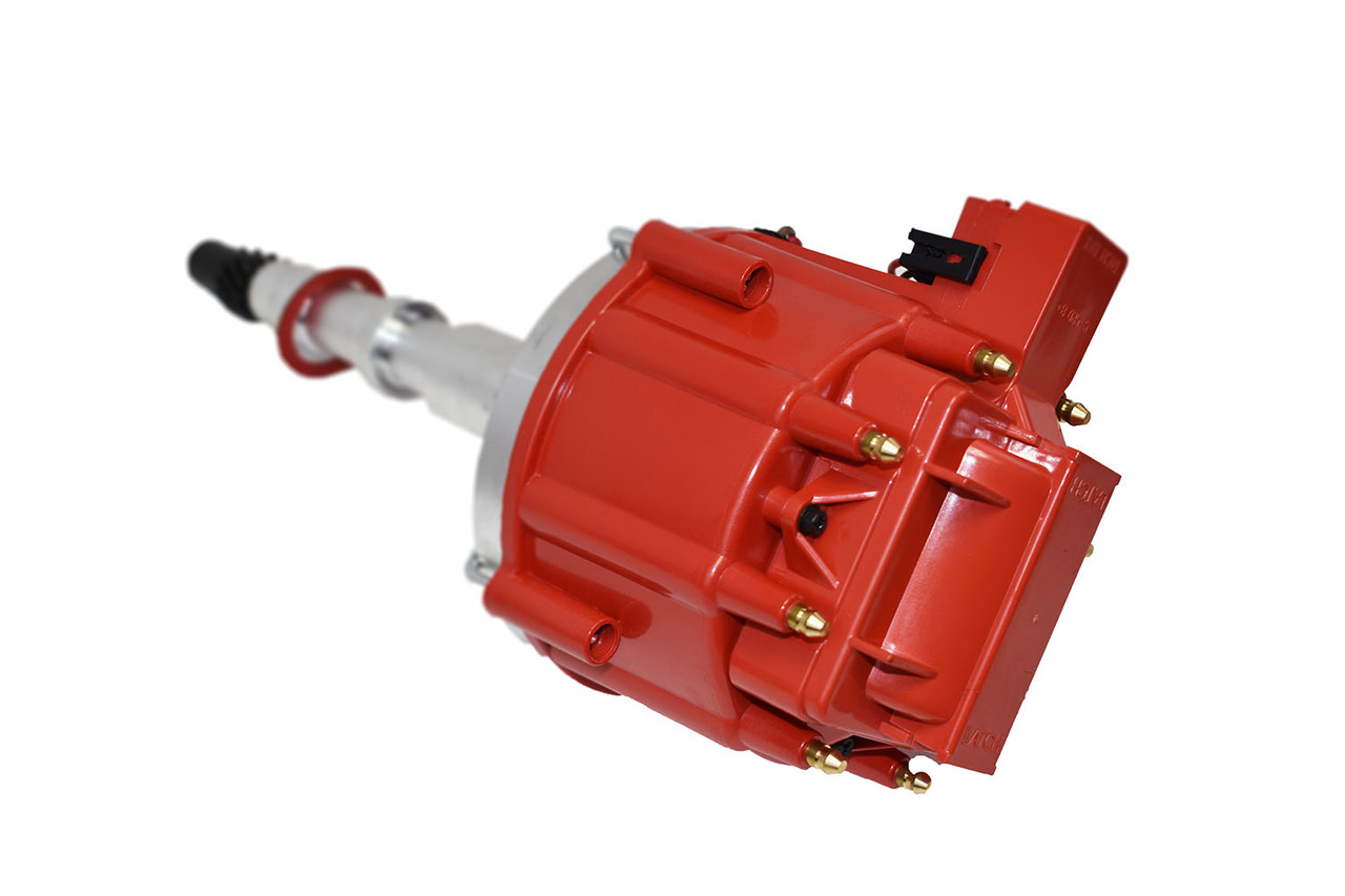 A-Team Performance AMC Jeep CJ5 CJ7 304 360 401 V-8 HEI Distributor Red 65K Volt Coil