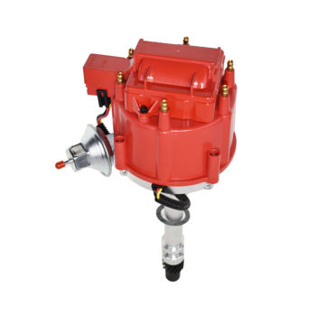 A-Team Performance CHEVY GMC 4.3L V-6 HEI020R HEI Distributor with Red Flat-Cover Super Cap