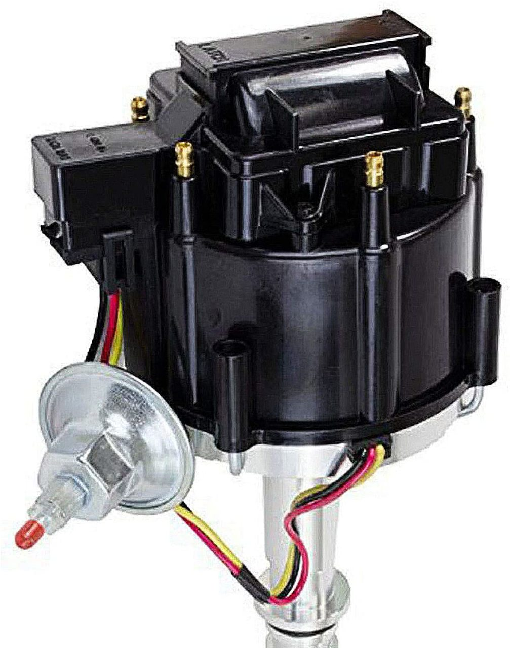 A-Team Performance 64 65 66 67 68 FORD MUSTANG STRAIGHT 6 CYL 170 200 HEI DISTRIBUTOR 5/16 Hex Shaft Black