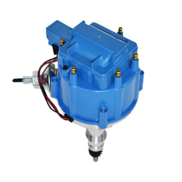 A-Team Performance HEI Distributor Ford Inline 6 144-200 Inline 6 With 5/16 Hex Shaft Blue Cap