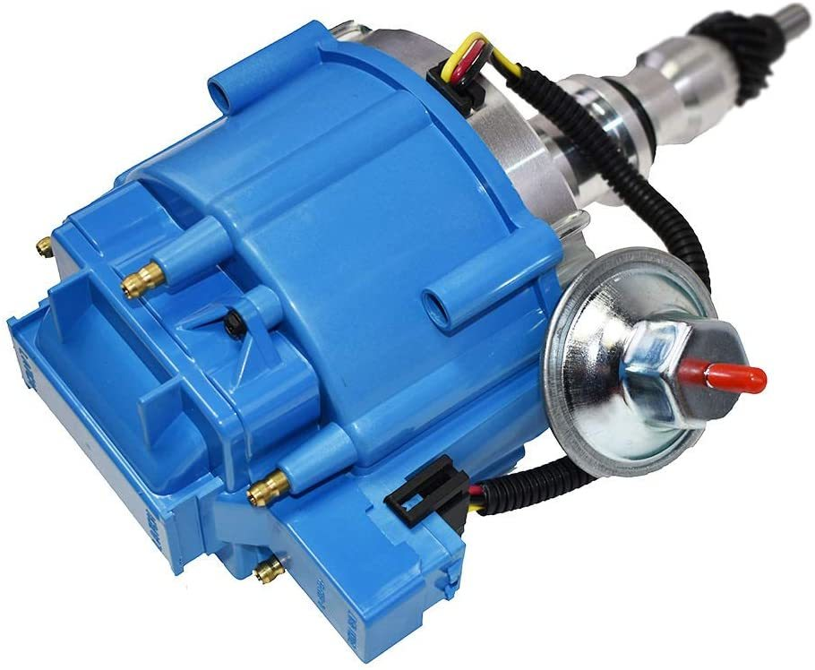 A-Team Performance Hei Distributor Ford, 240 And 300 Engines, Blue Cap F100 F150 F250 E150