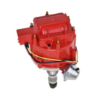 A-Team Performance HEI Distributor 65K Volt Coil Compatible with Buick Odd Fire 231 3.8L V6 225 Jeep 3.7L Dauntless One Wire Installation Red Cap