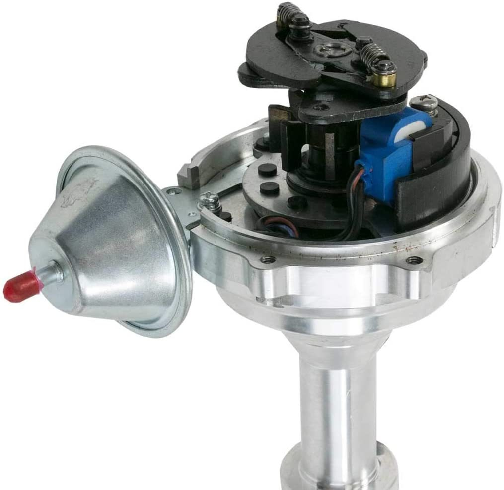A-Team Performance Pro Series Ready to Run R2R Distributor for Buick SB, 70-74 Range Rover V8 Engine, Red Cap