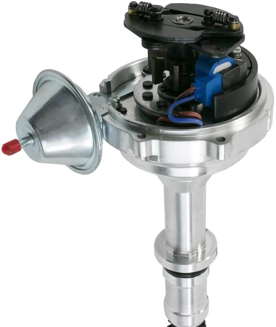 A-Team Performance Pro Series Ready to Run R2R Distributor for Buick BB, V8 Engine, Black Cap