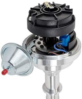 A-Team Performance Pro Series Ready to Run R2R Distributor Compatible With Chevy Corvair Flat 6 140 145 164 Engine, Black Cap