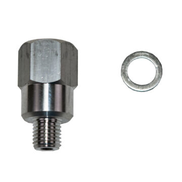 A-Team Performance LS Engine Swap M12 1.5 Adapter to 1/4 NPT Coolant Temperature Sensor Water for LS1 LSX LS3