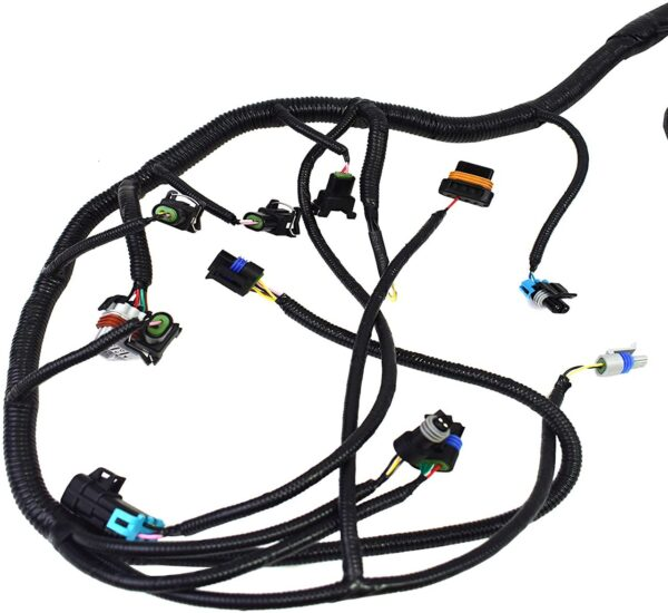 A-Team Performance Standalone Wiring Harness W/4L60E DBC Compatible With 4.8 5.3 6.0 GM LS LS1 LS6 LS Truck Swap Vortec 1999-2003