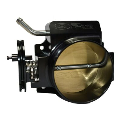 A-Team Performance 92MM 4-BOLT LS BLACK THROTTLE BODY