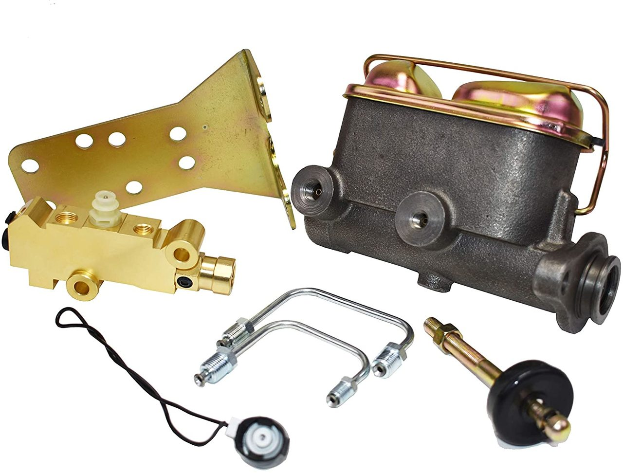 A-Team Performance Manual or Power Master Cylinder Kit for Disc/Drum Compatible With 1964-1973 Ford Mustang