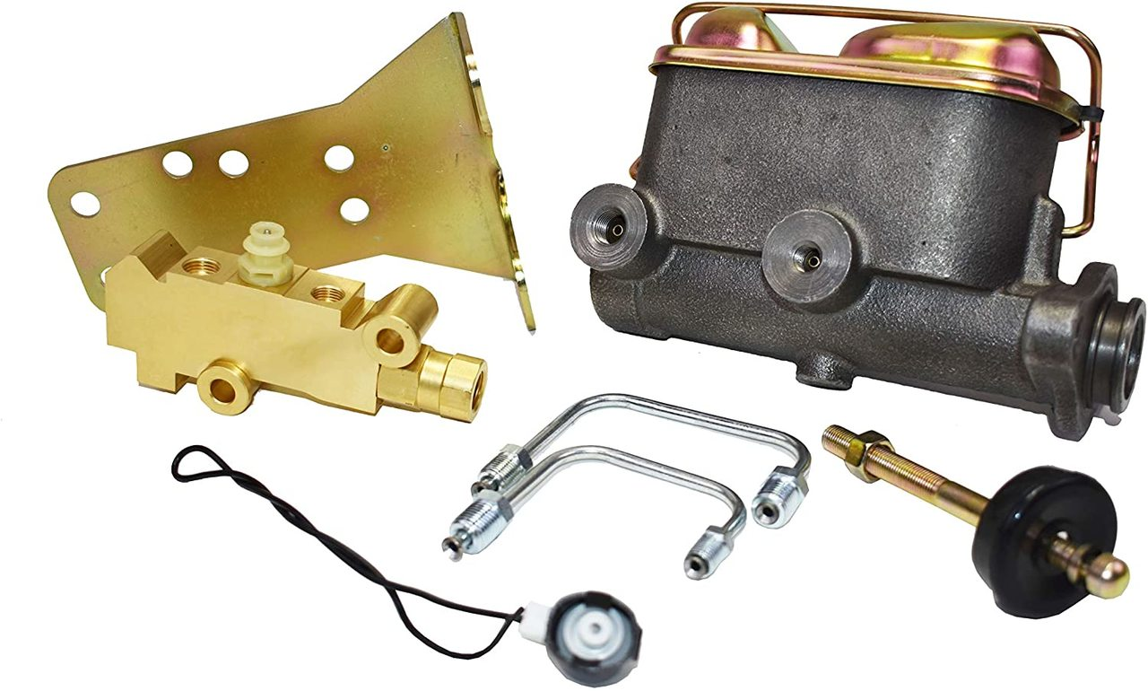 A-Team Performance 1964-1973 Ford Mustang Manual or Power Master Cylinder kit for Disc/Disc