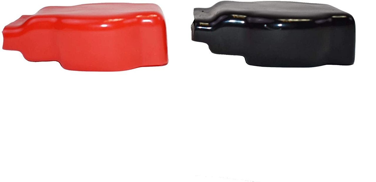 A-Team Performance Military Spec Terminal Top Post Positive & Negative Terminal Kit + Red & Black Covers