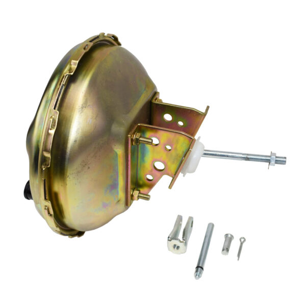 """A-Team Performance GM 64-72 A, F, X BODY 11"""" DELCO STYLE BRAKE BOOSTER ZINC"""