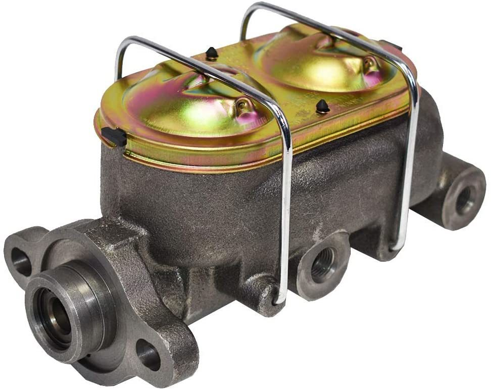 A-Team Performance Jeep CJ 1974-86 Power Brake Unit 8 inch Dual Diaphragm Booster Master Cylinder