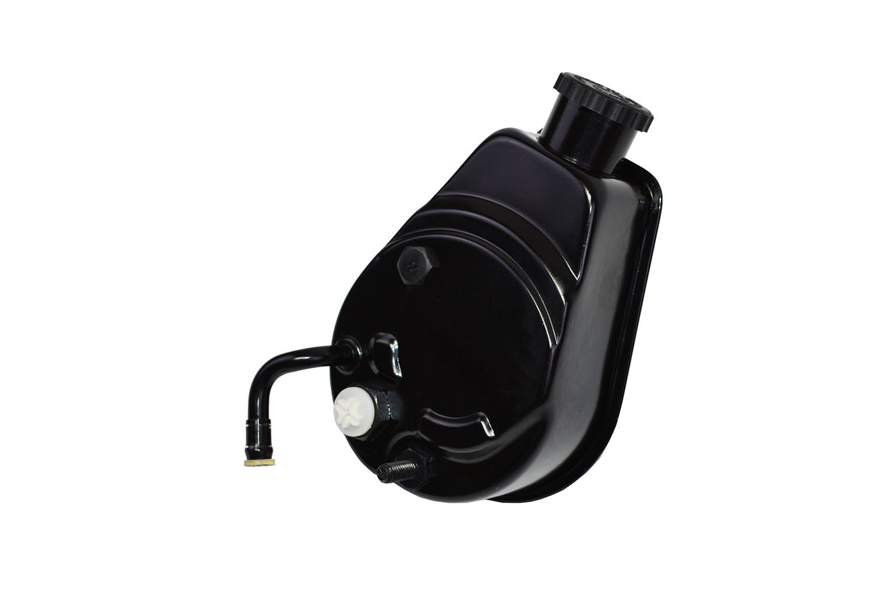 A-Team Performance Saginaw Power Steering Pump Compatible with Chevrolet GMC Buick Oldsmobile Pontiac P Series Black