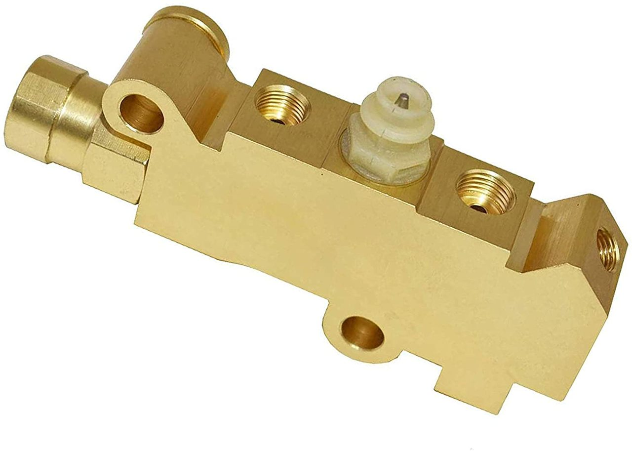 A-Team Performance Universal GM Chevy Brass Disc/Disc Brake Proportioning Valve PV4
