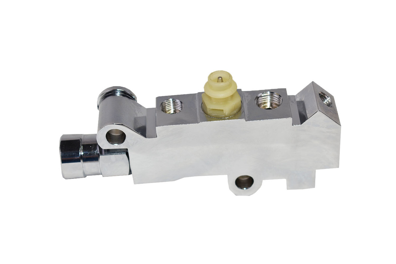 A-Team Performance Chrome Pv4 Universal Gm Chevy Disc/Disc Brake Acdelco Proportioning Valve