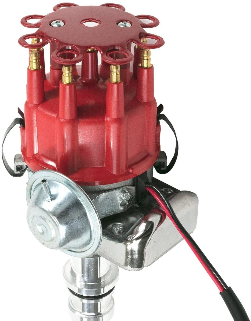 A-Team Performance SBF Ford Small Block 289 302 R2R Distributor Red Ready 2 Run