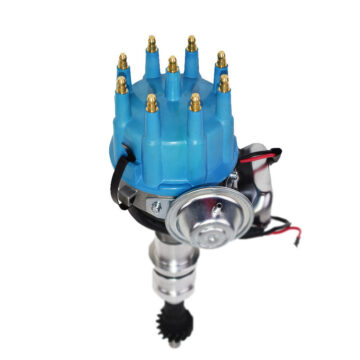 A-Team Performance Big Block Ford R2R 351C 351M 400M 429 460 Small Cap Distributor Blue