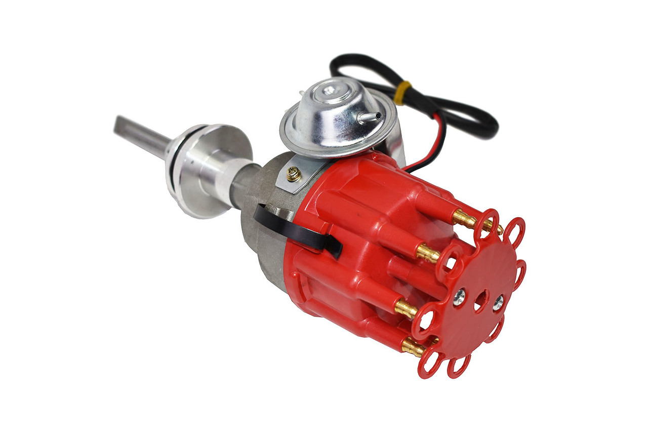 A-Team Performance Mopar R2R Distributor Chrysler Dodge Plymouth V8 Engines 318 340 360 Red Cap