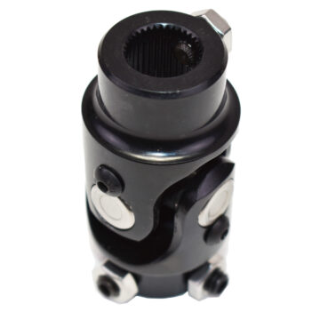 "A-Team Performance Forged Steel Yokes Steering Shaft Universal U-JOINT 3/4"" 36 SPLINE TO 3/4"" DD Black"