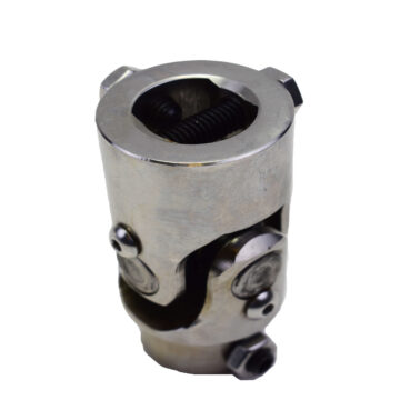 "A-Team Performance Forged Stainless Steel Yokes Steering Shaft Universal U-Joint 3/4"" 36 Spline To 1"" DD"