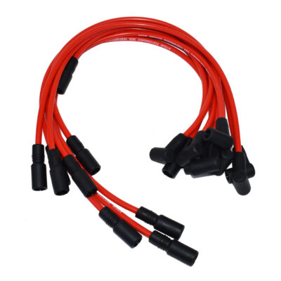 A-Team Performance Chevy GMC Truck SUV 5.0L 5.7L 5700 350 Vortec 8.0mm Red Silicone Spark Plug Wires SBC 1996-2003