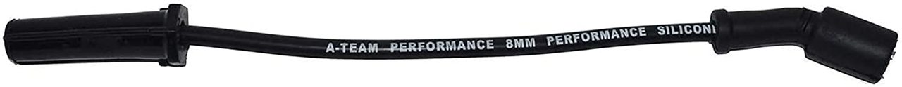 "A-Team Performance Silicone Spark Plug Wires Compatible with GMC Chevy Truck SUV 11"" VORTEC LS LS1 LS2 LS3 LS6 LS7 1999-2014 Black"