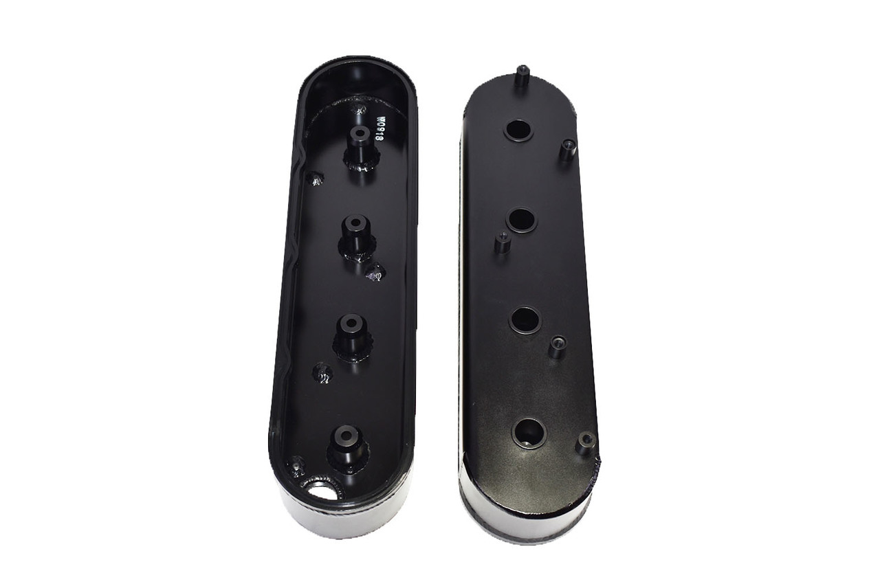 A-Team Performance GM LSX Fabricated Aluminum Valve Covers with Coil Mounts