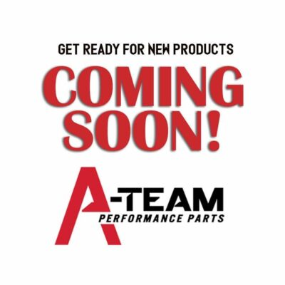 A-Team Performance Water Pump Pulley Double-Groove LWP Long Water Pump Compatible with Small Block Chevy SBC 262 265 267 283 302 305 307 327 350 400, Chrome Steel